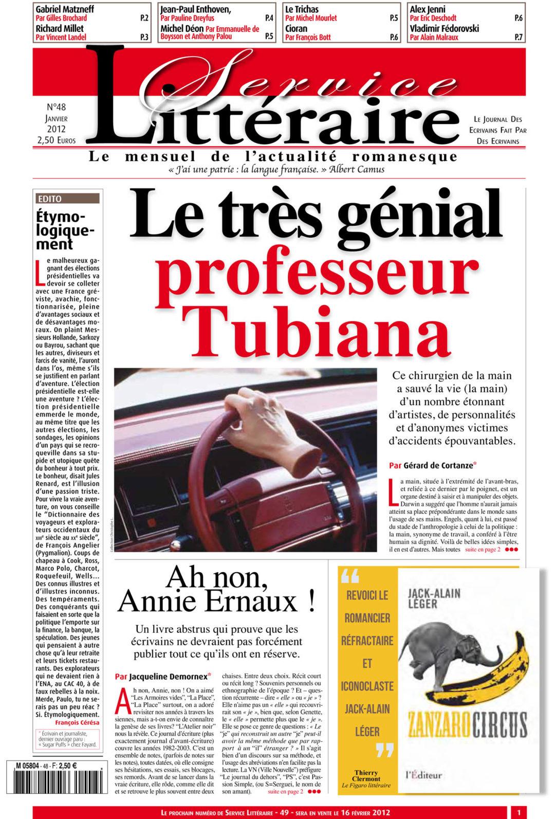 Professeur Tubiana
