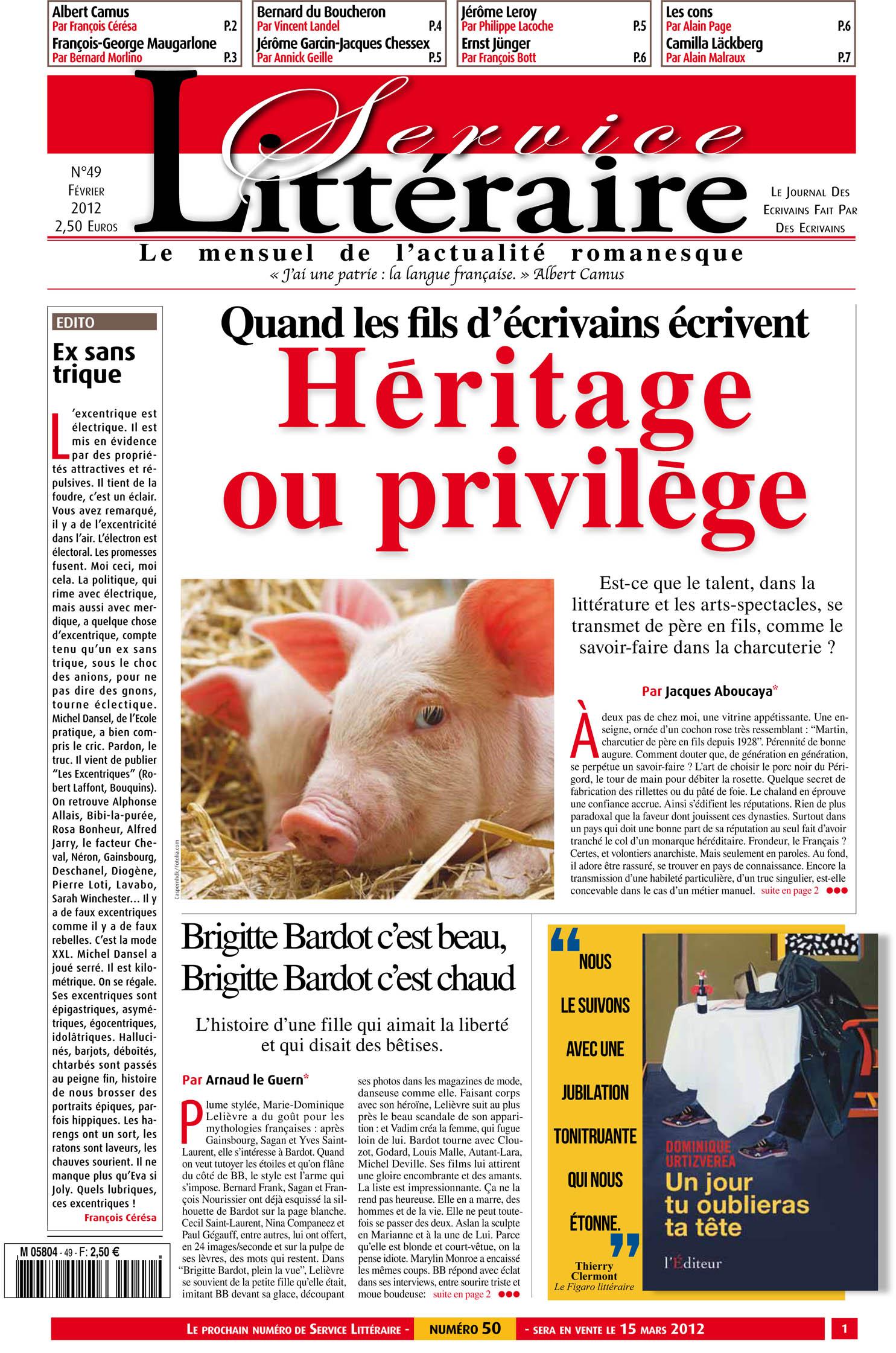 Héritages et privilèges