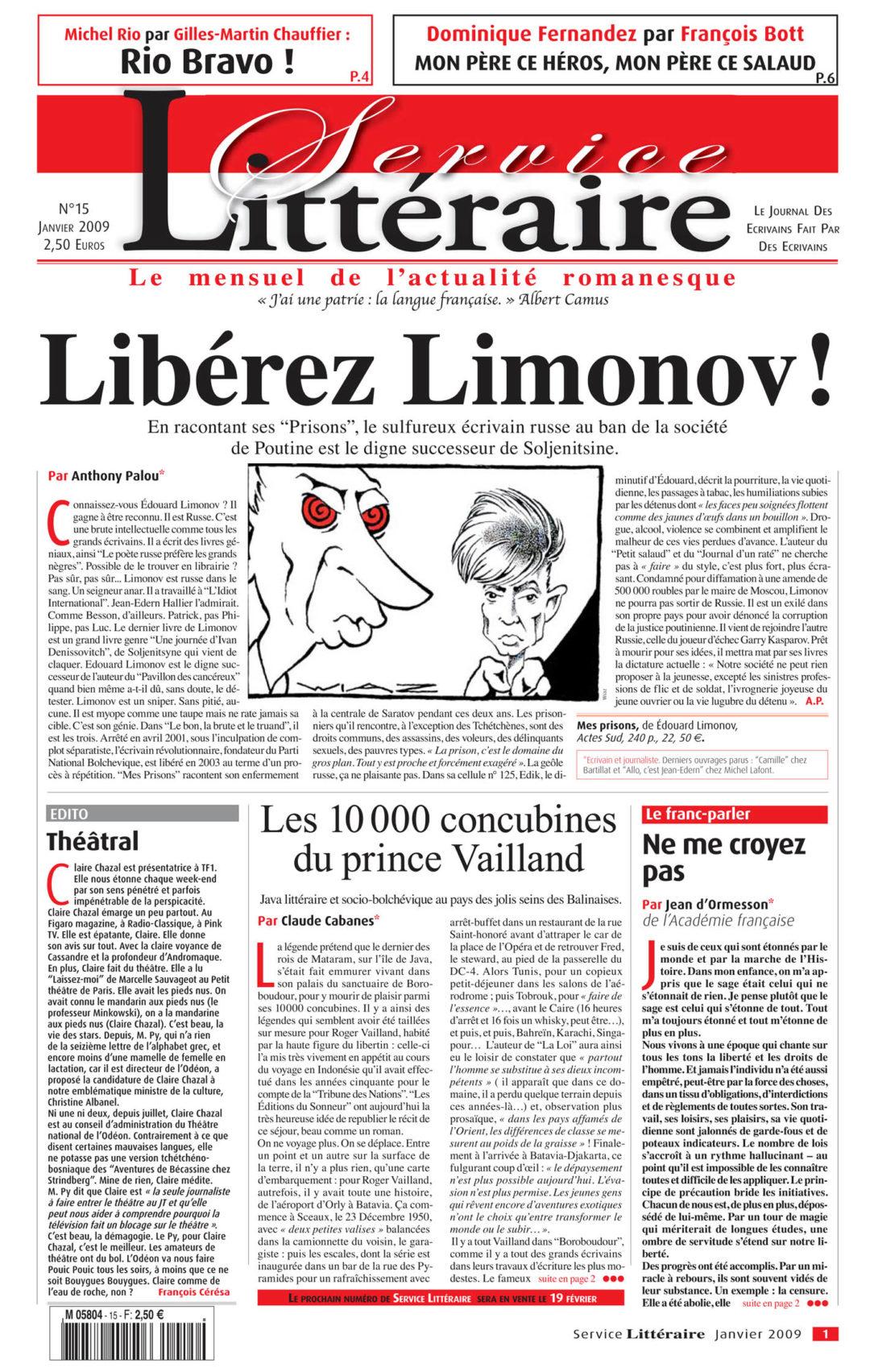 Libérez Limonov !