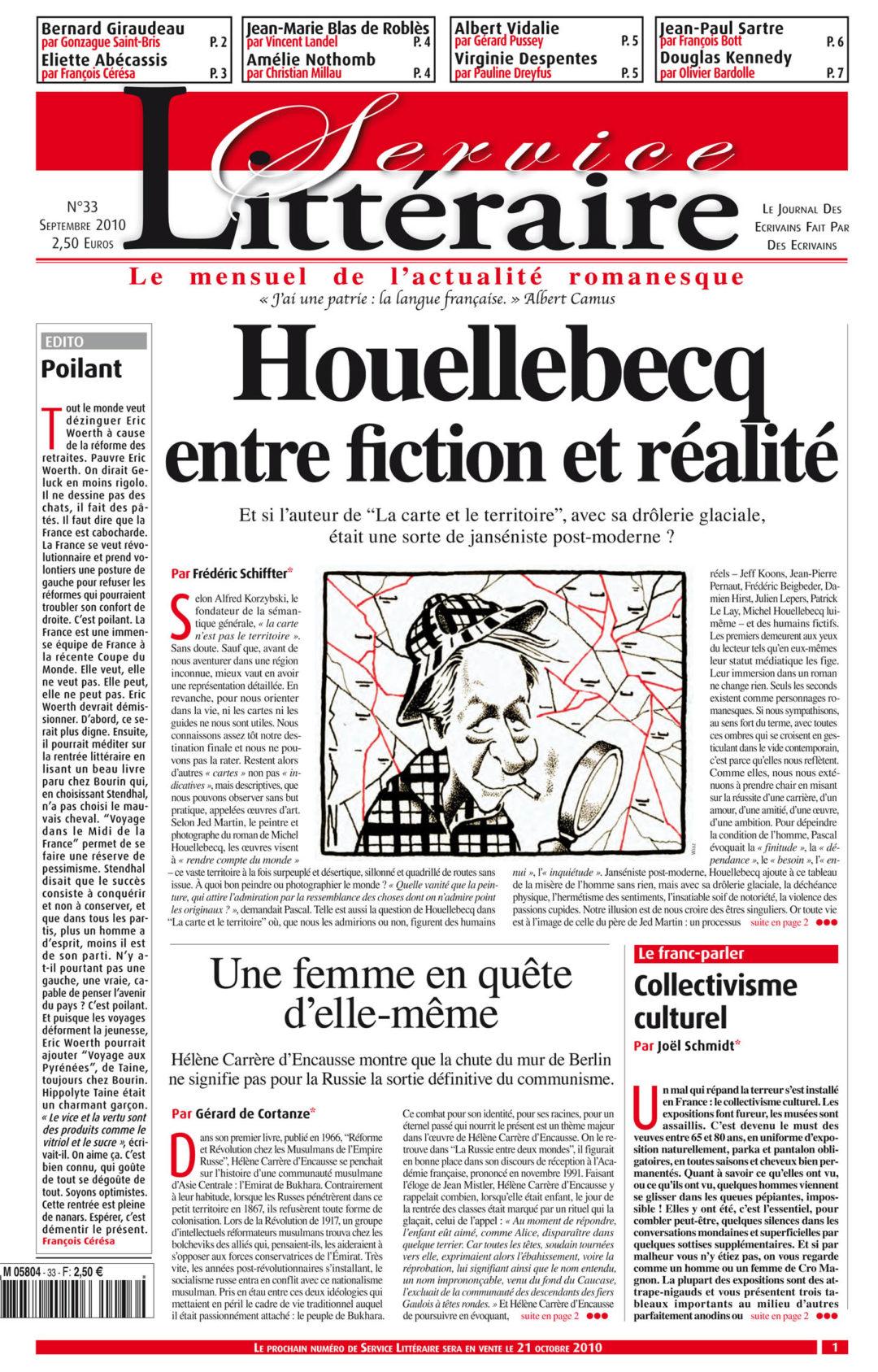 Houellebecq entre fiction et réalité