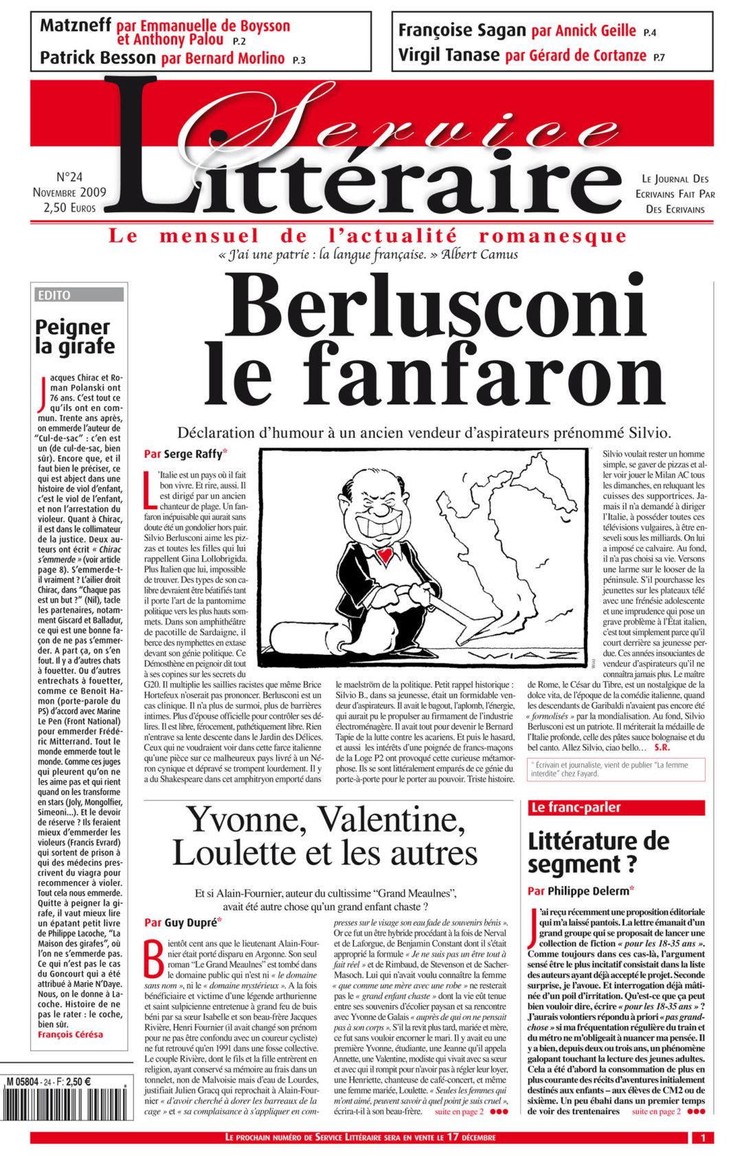 Berlusconi le fanfaron