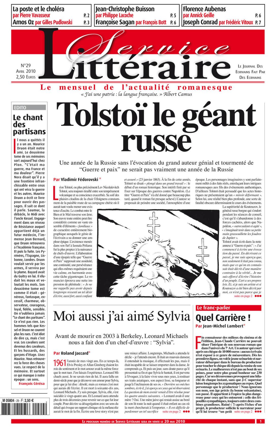 Tolstoï le géant russe