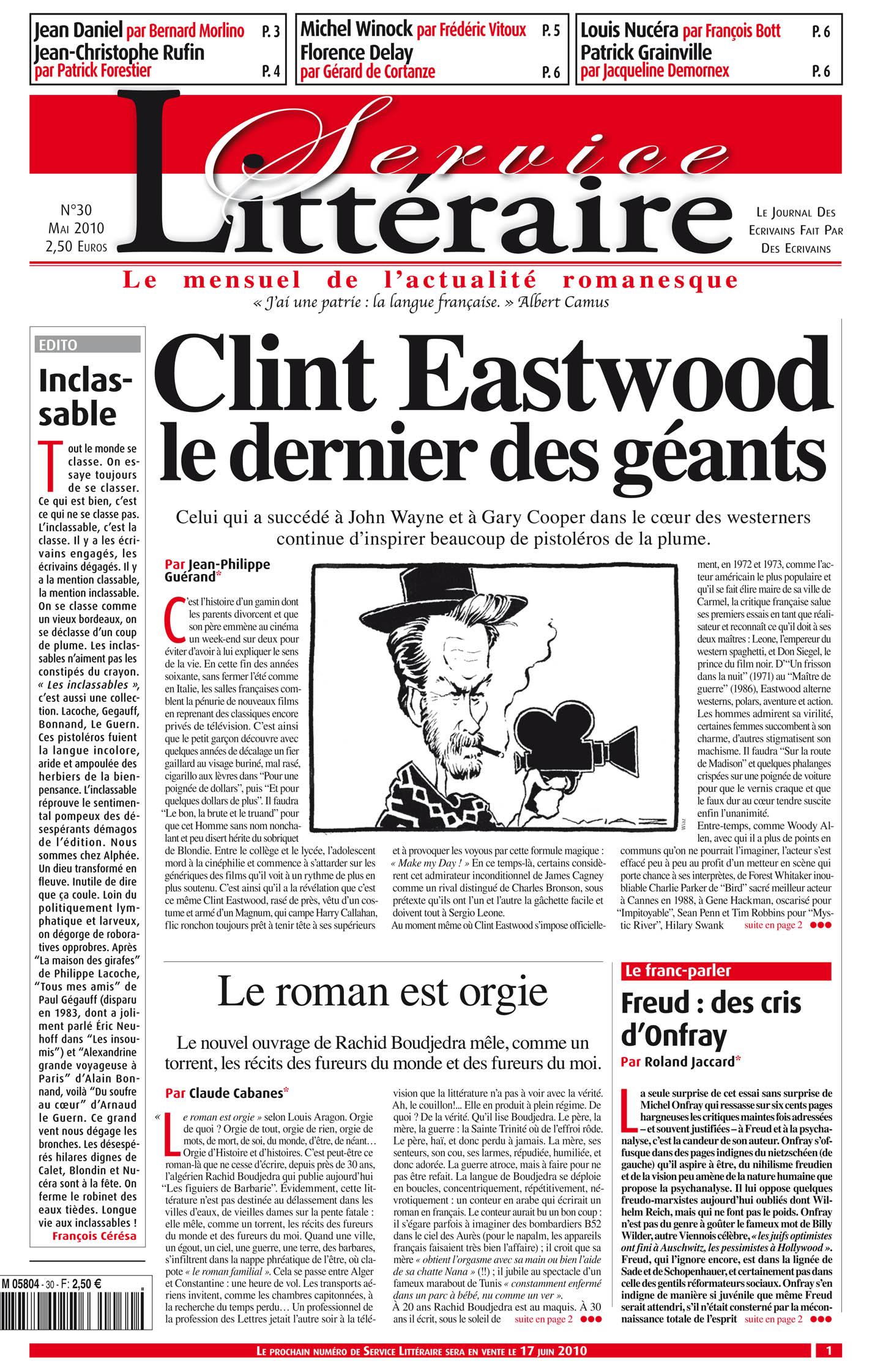 Clint Eastwood le dernier des géants