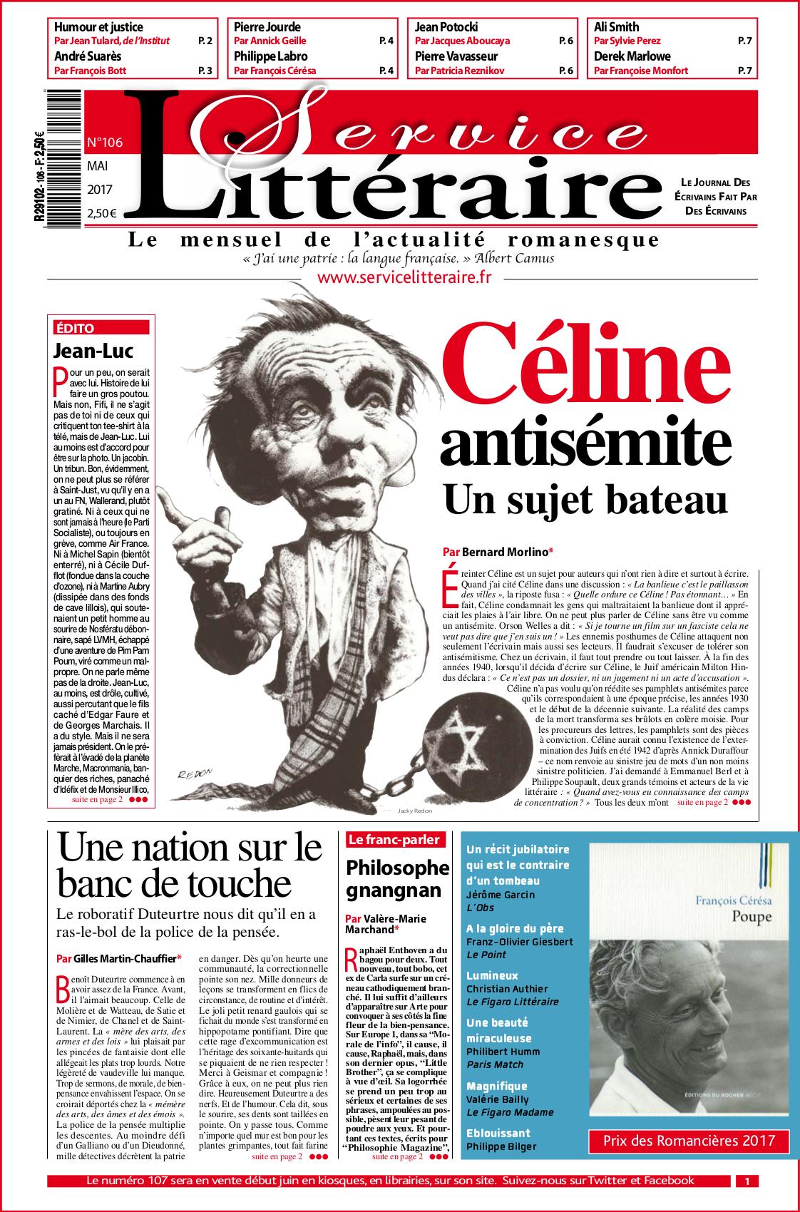 une 106 - Mai 2017 - Céline