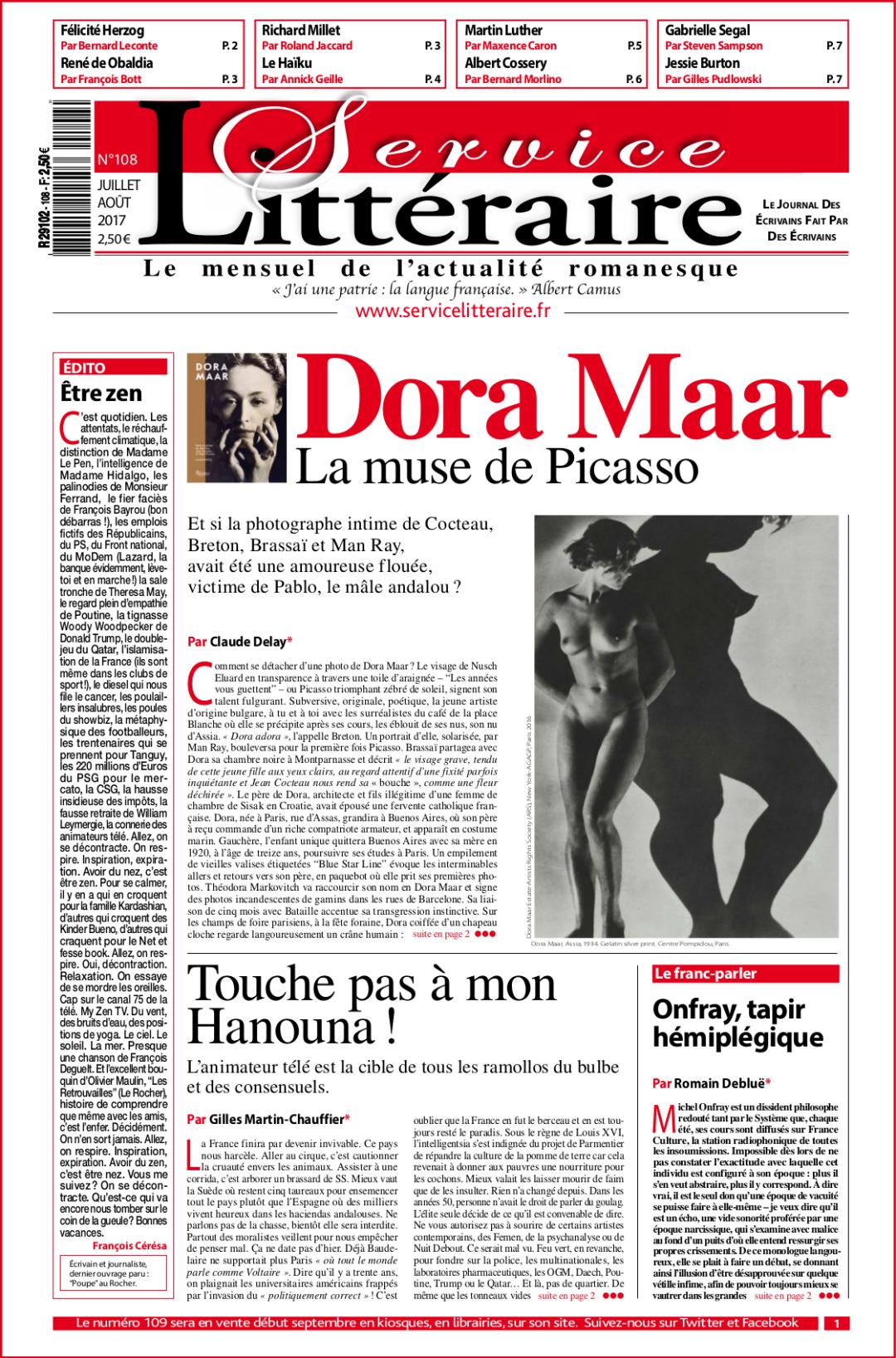 une Dora Maar 108 juillet 2017