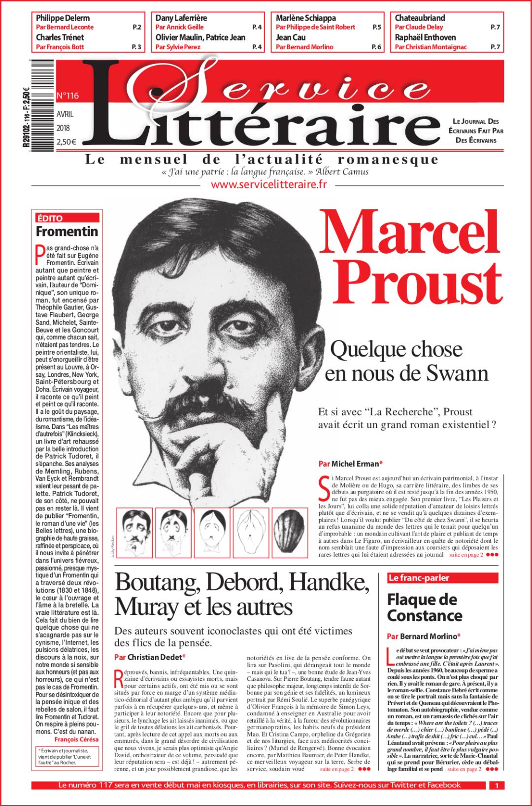 Proust 116 avril 2018
