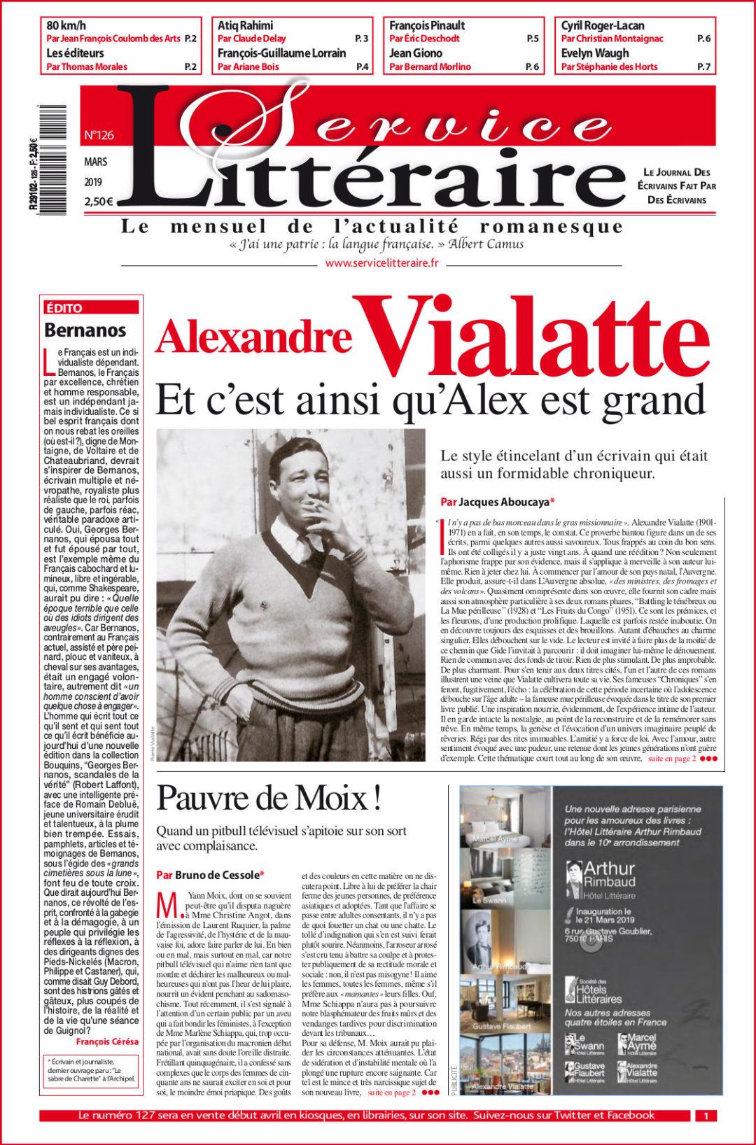 Vialatte 126 Mars 2019