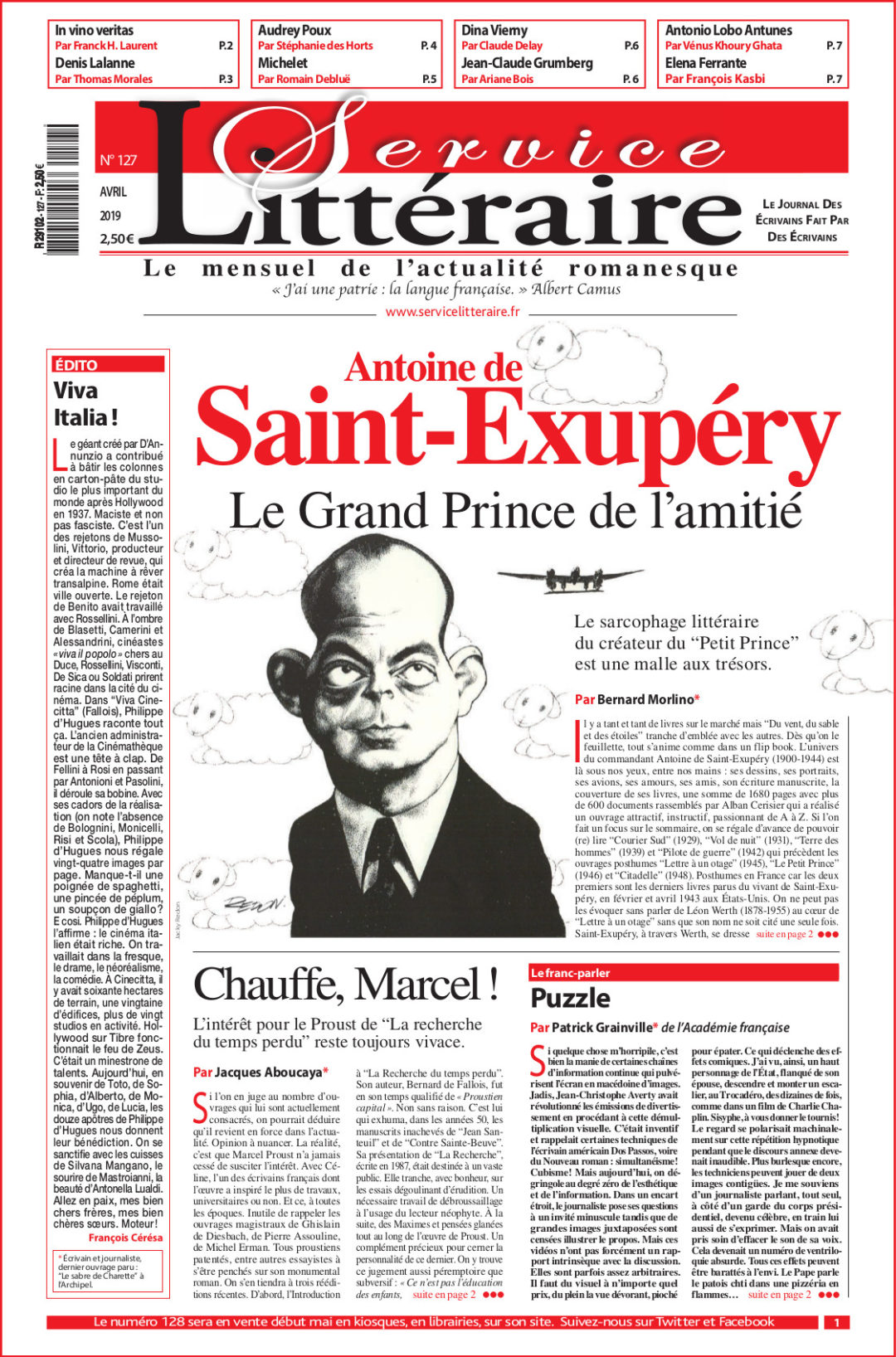 Saint Exupéry 127 avril 2019