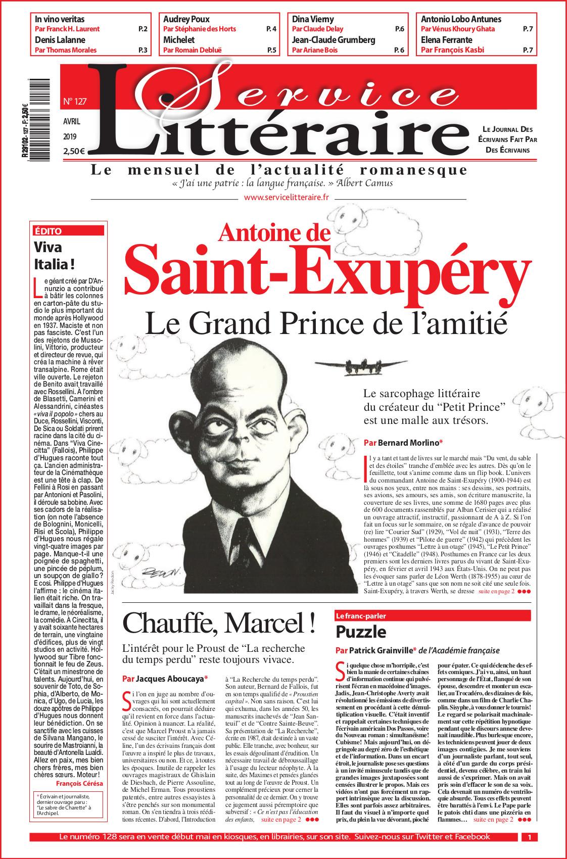 Saint Exupéry 127 avril 2019