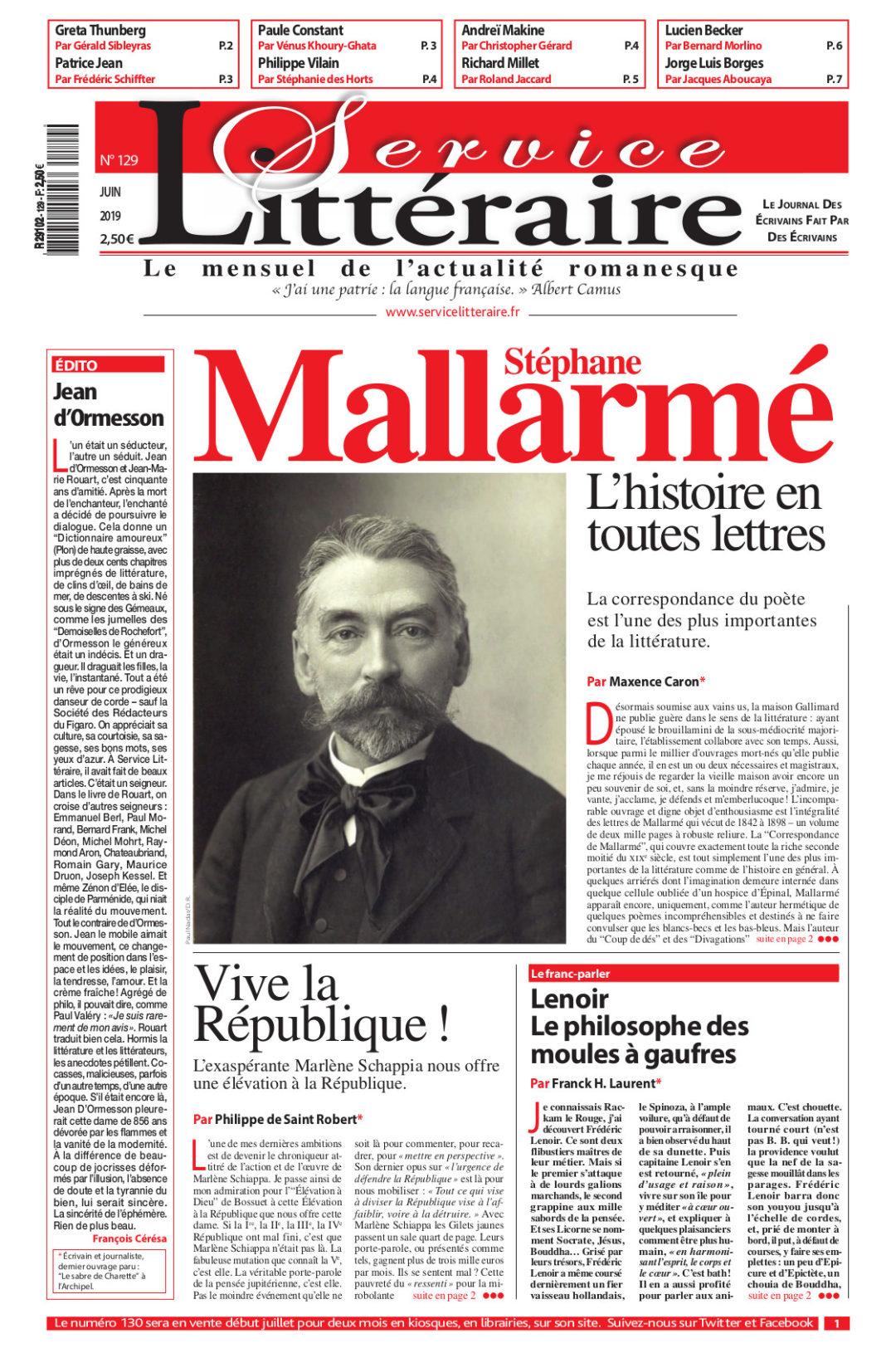 service_litteraire_129 Juin 2019 Mallarmé