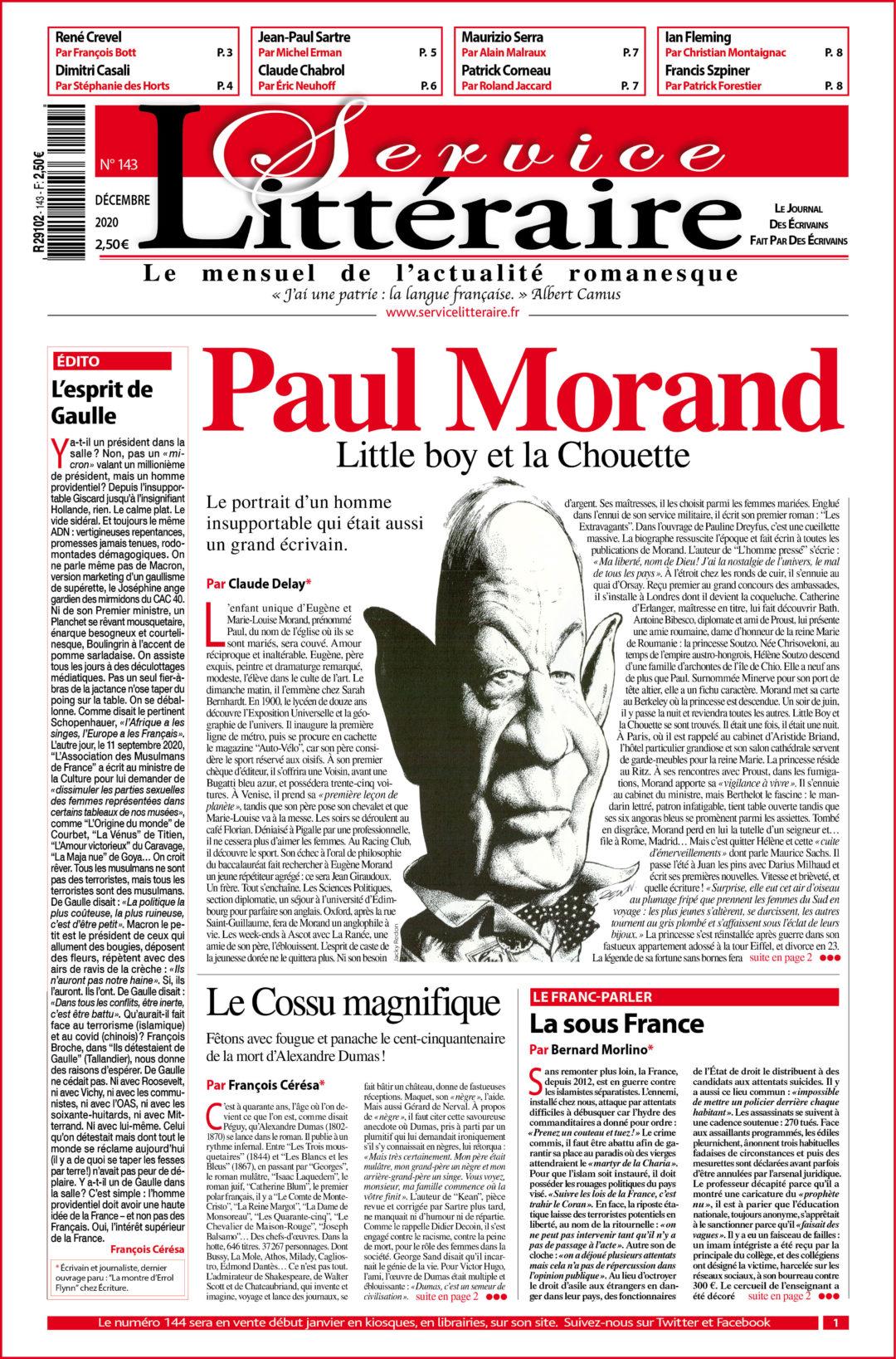 SL 143 Paul Morand