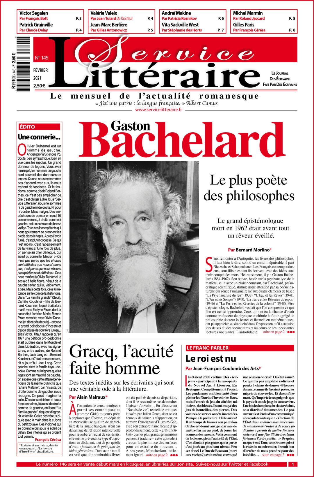 Une 145 Bachelard