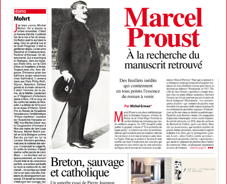 SL 149 Juin 2021 Marcel Proust