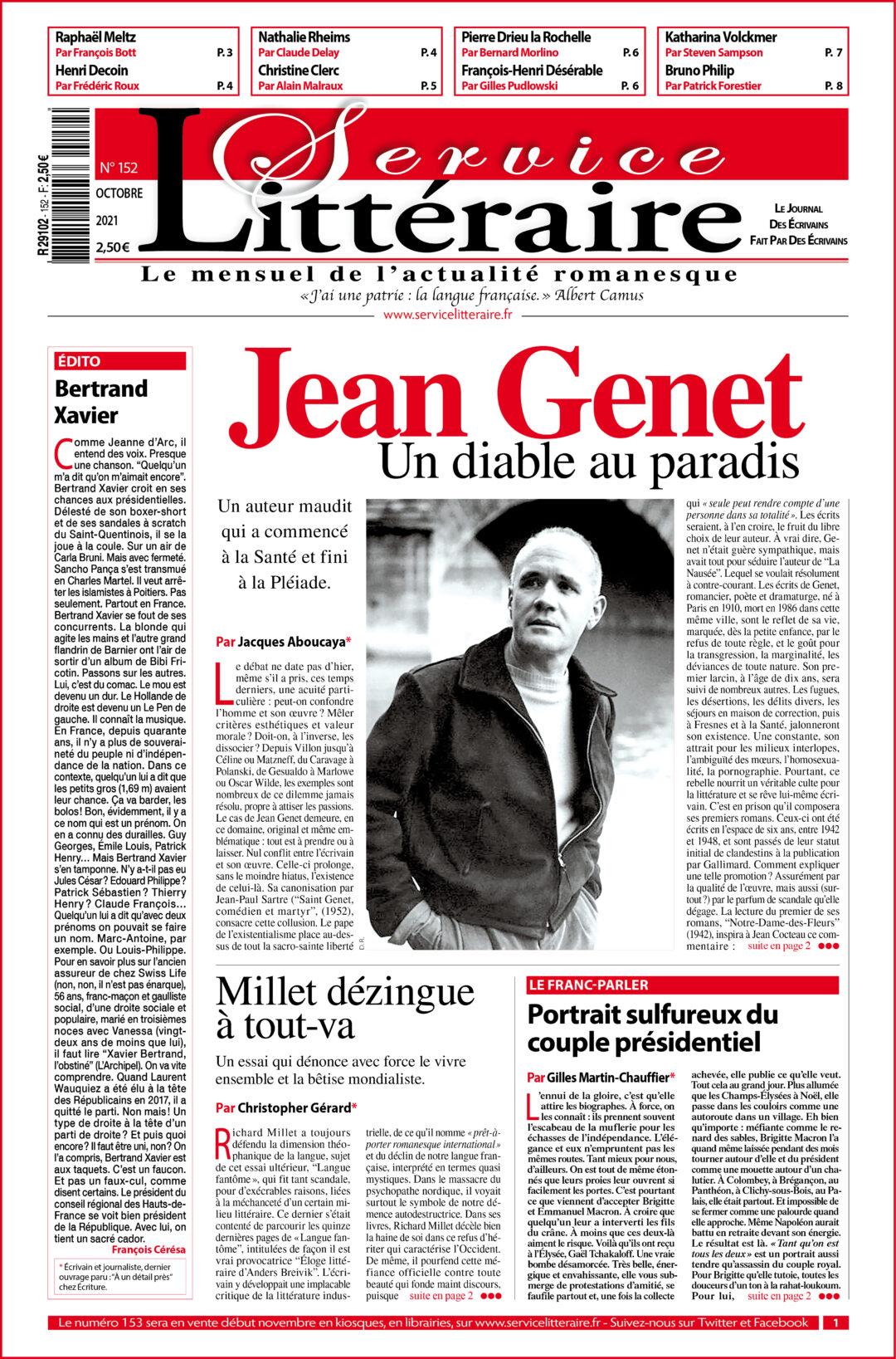 Une Jean Genet octobre 2021